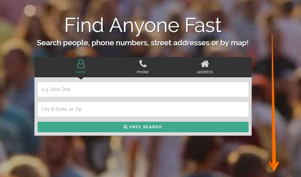 how to find addresses and phone number free online