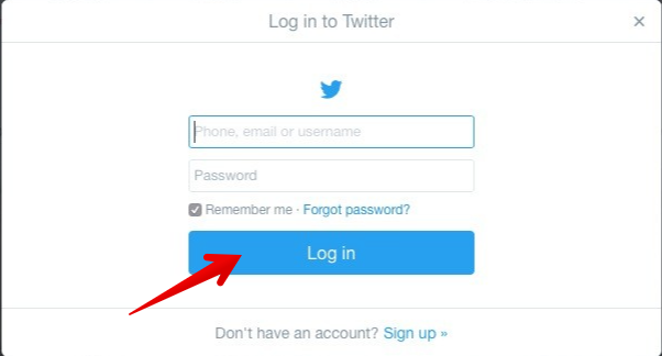 how to remove twitter account