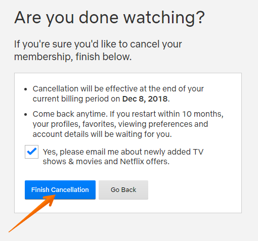 How to remove personal information from netflix com
